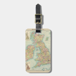 British Isles - political. Luggage Tag