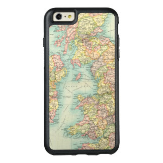 British Isles political map OtterBox iPhone 6/6s Plus Case