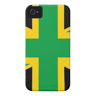 British - Jamaican Union Jack iPhone 4 Covers