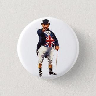 British John Bull 3 Cm Round Badge