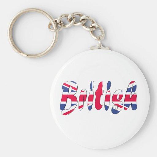 British Key Chains
