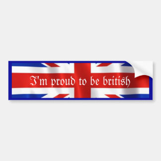 British Love_ Bumper Sticker