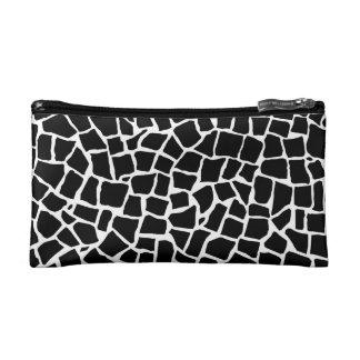 British Mosaic Black and White Makeup Bags