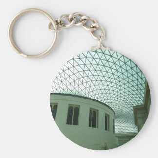 British Museum Basic Round Button Key Ring
