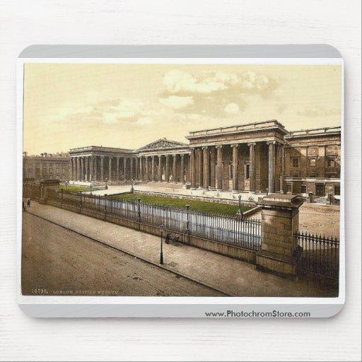 British Museum, London, England rare Photochrom Mouse Pad