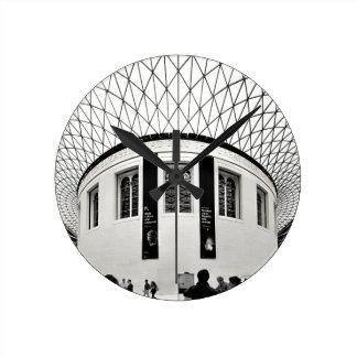 British Museum Round Clock
