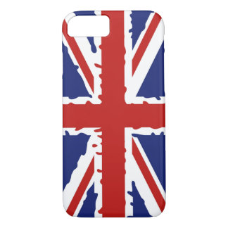 British paint splash flag iPhone 8/7 case
