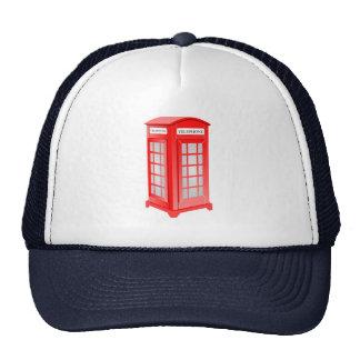 British Phone booth Cap