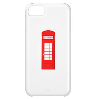 British Phone Booth iPhone 5C Covers