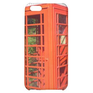 BRITISH PHONE BOOTH iPhone 5C CASES