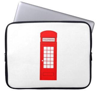British Phone Booth Laptop Sleeves