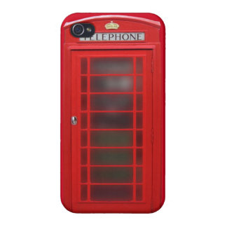 British Phone Booth Phone Case iPhone 4 Covers