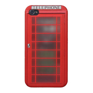 British Phone Booth Phone Case iPhone 4 Cover