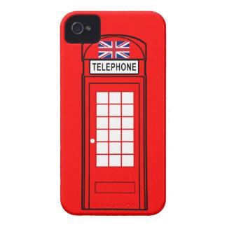 British Phone Box with Union Jack Case-Mate iPhone 4 Case