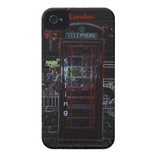 British Phone on Blackberry Case