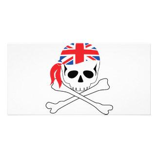British Pirate Photo Card Template