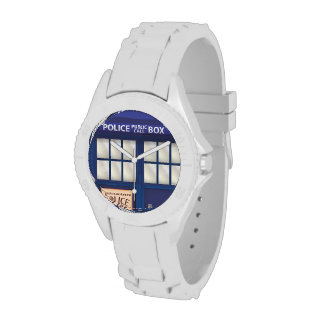 British Police Box Watch