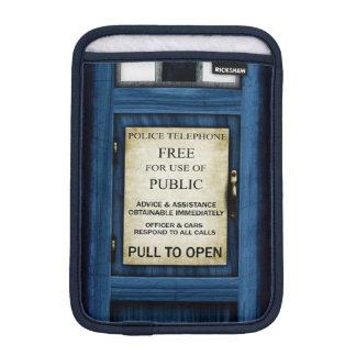 British Police Call Box Sign iPad Mini Slip 2 Sleeve For iPad Mini