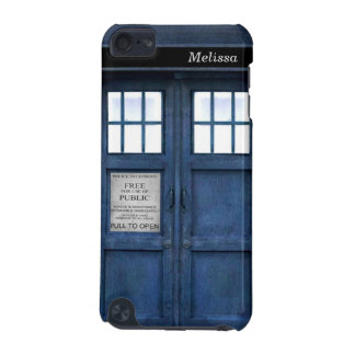British Police Phone Call Box Retro 1960s Pattern iPod Touch 5G Cases