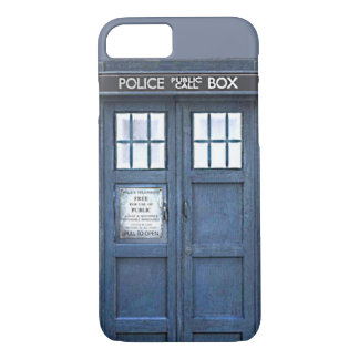 British Police Public Call Box Blue iPhone 7 case