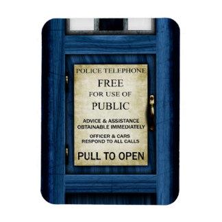 British Police Public Call Box Fridge Magnet 2