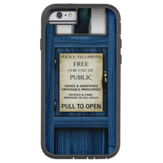 British Police Public Call Box iPhone Tough Case