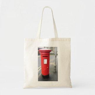 British Post Box Budget Tote Bag