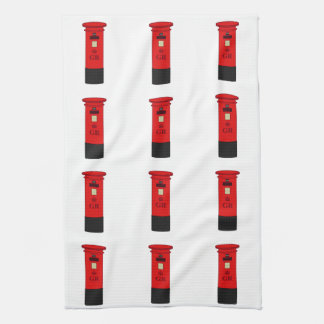 British Post Box Tea Towel