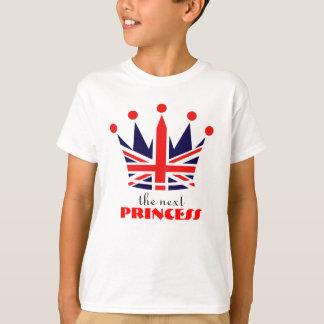 British Princess Crown Tee Shirts