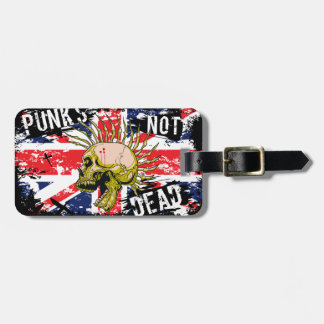 British Punk Not Dead Luggage Tag