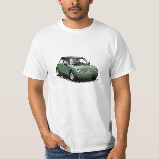 British Racing Green Modern Mini Car T-Shirt