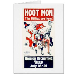 British Recruiting Week (US02117) Greeting Card
