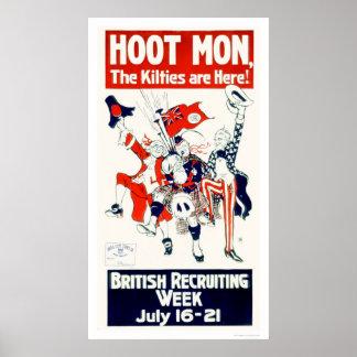 British Recruiting Week (US02117) Poster