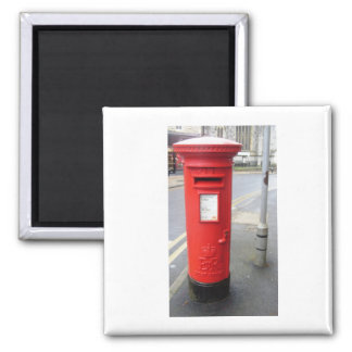 British Red Post Box Magnet