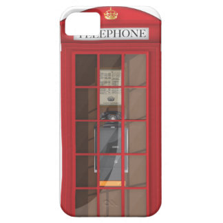 British Red Public call box Case For The iPhone 5