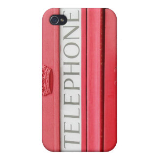 British Red Tele Box iPhone 4/4S Cover