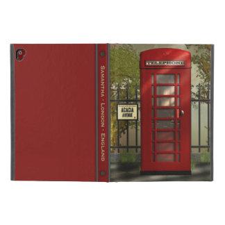 "British Red Telephone Box London Street iPad Pro 9.7"" Case"