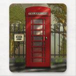 British Red Telephone Box Mousepad