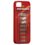 British Red Telephone Box Personalised Barely There iPhone 5 Case