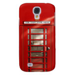 British Red Telephone Box Personalized Samsung Galaxy S4 Cover