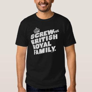 BRITISH ROYAL FAMILY T-SHIRTS