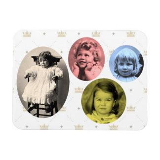 British royal girls rectangular photo magnet