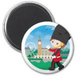 British Royal Guard Refrigerator Magnet