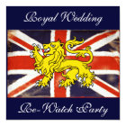British Royal Wedding Re-Watch Party Invitation