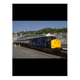 British Rys Delta class diesel_Trains of the World Postcard