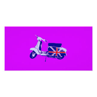 British scooter photo card