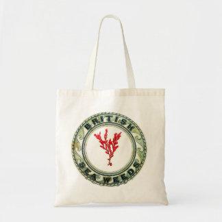 British Sea Weeds Budget Tote Bag
