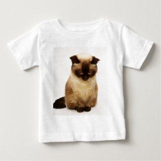 British Shorthair Cat Pet Mieze British Short Hair Baby T-Shirt