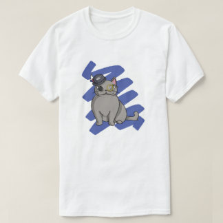 British Shorthair scratch T-Shirt
