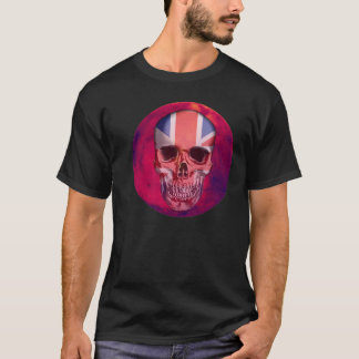 British Skull Imprint T-Shirt